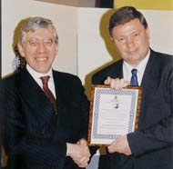 Hamish was commended by the then Home Secretary, Rt. Hon. Jack Straw